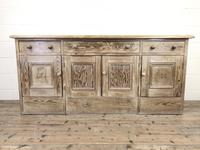 Pitch Pine Sideboard with Four Cupboards (2 of 10)