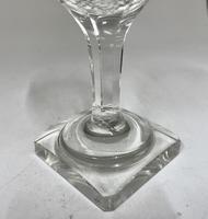 Antique English Wine Glass c.1890 (4 of 6)