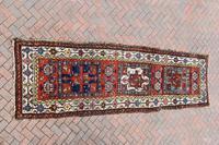 Antique Shassavan long rug 382x126cm (7 of 9)