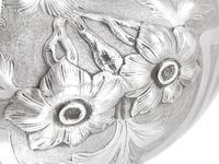 Sterling Silver Spirit Kettle - Antique Victorian (1866) (9 of 15)