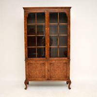 Antique Burr Walnut  Bookcase (2 of 9)