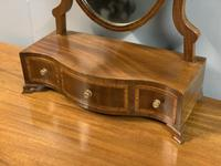 English Regency Serpentine Dressing Table Mirror (2 of 5)