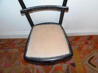Ebonised Victorian Chair (9 of 10)