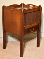 18th Century Mahogany Commode Bedside Cabinet (5 of 5)