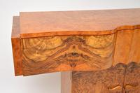Art Deco Burr Walnut Console Table by Hille (3 of 12)