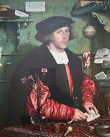 Very Fine Quality Large Old Master Portrait 'medici Society' Print - Circa 1910 (6 of 12)