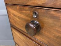Victorian Tall Mahogany Chest of Drawers (12 of 12)