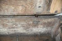 Antique Rustic 18th Century Oak Side Table (8 of 11)