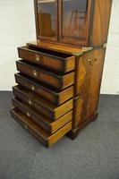 Quality Mahogany Campaign Bookcase on Chest (2 of 9)