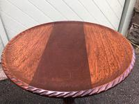 Pair of Antique Mahogany Tripod Wine Tables (7 of 8)