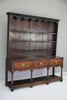 Antique Georgian Oak Dresser (4 of 12)