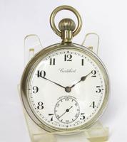 Vintage 1930s Cortebert Pocket Watch (2 of 4)