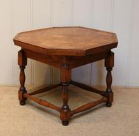 Small Oak Parquetry Top Table (8 of 10)