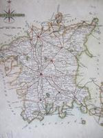 Late 18th Century Map of Worcestershire by John Cary (2 of 2)