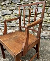 Antique Country Oak Armchair (11 of 14)