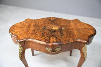 French Inlaid Walnut Centre Table (3 of 12)