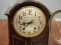 Inlaid Mahogany Mantel Clock by Hamilton & Inches (4 of 5)