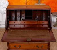 Bureau Mahogany Writing Desk Chest 19th Century Victorian (5 of 14)