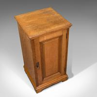 Antique Side Cabinet, English, Ash, Bedroom Night Stand, Pot Cupboard, Victorian (7 of 12)