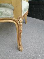 Superb quality pair of 19th century French giltwood window seats (7 of 8)