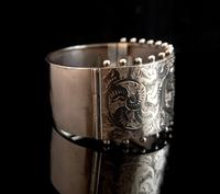 Victorian silver cuff bangle, Aesthetic (9 of 15)