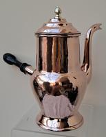Antique English Late Georgian Copper Coffee Pot (4 of 7)