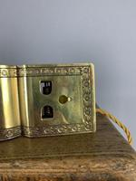 Usa Adjusto ~lite Clip On Desk Table Lamp, C1910. Rewired And Pat Tested (9 of 11)