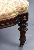 Victorian Rosewood Ladies & Gents Armchairs (10 of 22)