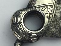 Antique Solid Silver Cheroot Cutter / Cigar Cutter Unusual Available Worldwide (5 of 16)
