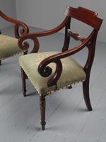 Pair of Late Georgian Mahogany Armchairs (6 of 16)
