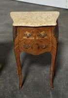 Quality Pair of French Marquetry Bedside Drawers (4 of 22)