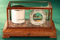 Drum Barograph & Barometer by Negretti & Zambra No 455 c.1918 (3 of 12)