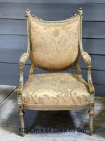 Super Pair of French Upholstered Armchairs (2 of 26)