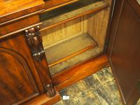 Victorian Mahogany Breakfront Cabinet Bookcase (11 of 19)