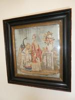 19th Century Oriental Scene Needlepoint (9 of 9)