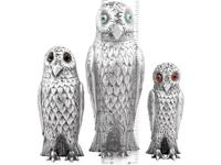 Sterling Silver Owl Pepperettes - Antique Victorian (12 of 12)