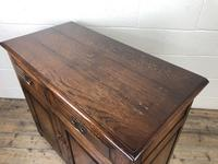 Antique Oak Dresser Base Sideboard (9 of 10)