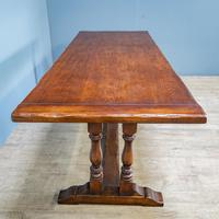 Refectory Table and 8 Ladderback Chairs (7 of 11)