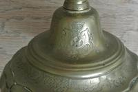 Fine Pair of 18th Century French Brass Candlesticks Seamed (3 of 11)
