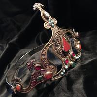 Stunning Headdress Set with Real Gemstones (8 of 8)