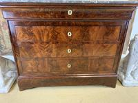 19th Century Marble Top Commode (2 of 8)