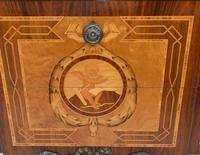 Scandinavian Commode Marquetry Chest of Drawers c.1920 (7 of 15)