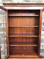 Burr Walnut Library Bookcase by Maple (10 of 10)
