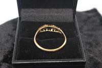 18ct Gold, Diamond & Sapphire Ring, size U, weighing 2.6g (5 of 5)