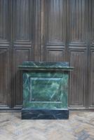 Original Painted Marble Pedestal (2 of 6)