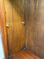 English Small Regency Style Dwarf Recessed Mahogany Open Bookcase (42 of 44)