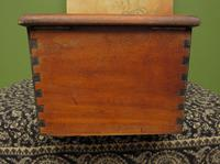 Antique Wooden Shop Till with Pull-out Drawer & Bell (10 of 14)