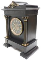 Amazing French Slate 8 Day Striking Heavy Quality Mantle Clock (6 of 12)