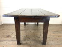 Early 19th Century Oak Kitchen Table (11 of 12)