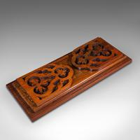 Antique Book Slide, English, Rosewood, Mahogany, Library Stand, Victorian c.1900 (7 of 12)